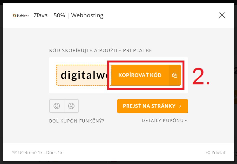 Ako aktivovať promo kupón na Stable.cz