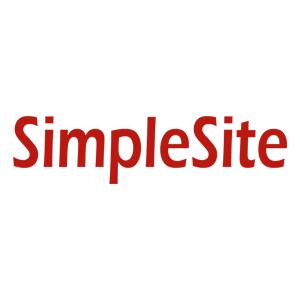 SimpleSite.com WYSIWYG editor page builder slevové kupóny