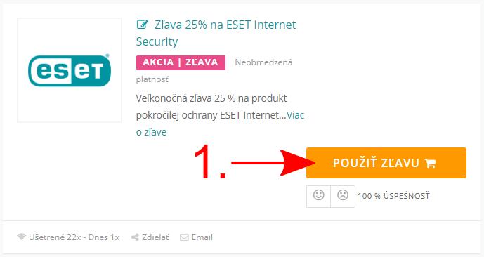 Akcia Eset.com